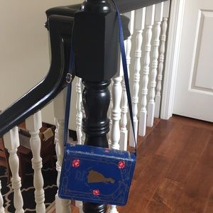 Beauty and the Beast crossbody bag.